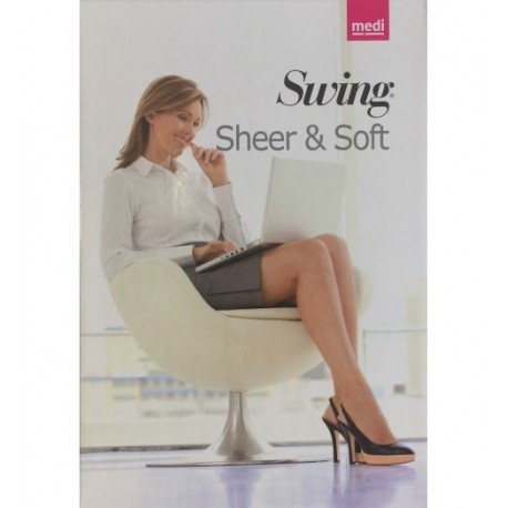 CALZA AUTOREGGENTE SHEER AND SOFT 18 MMHG